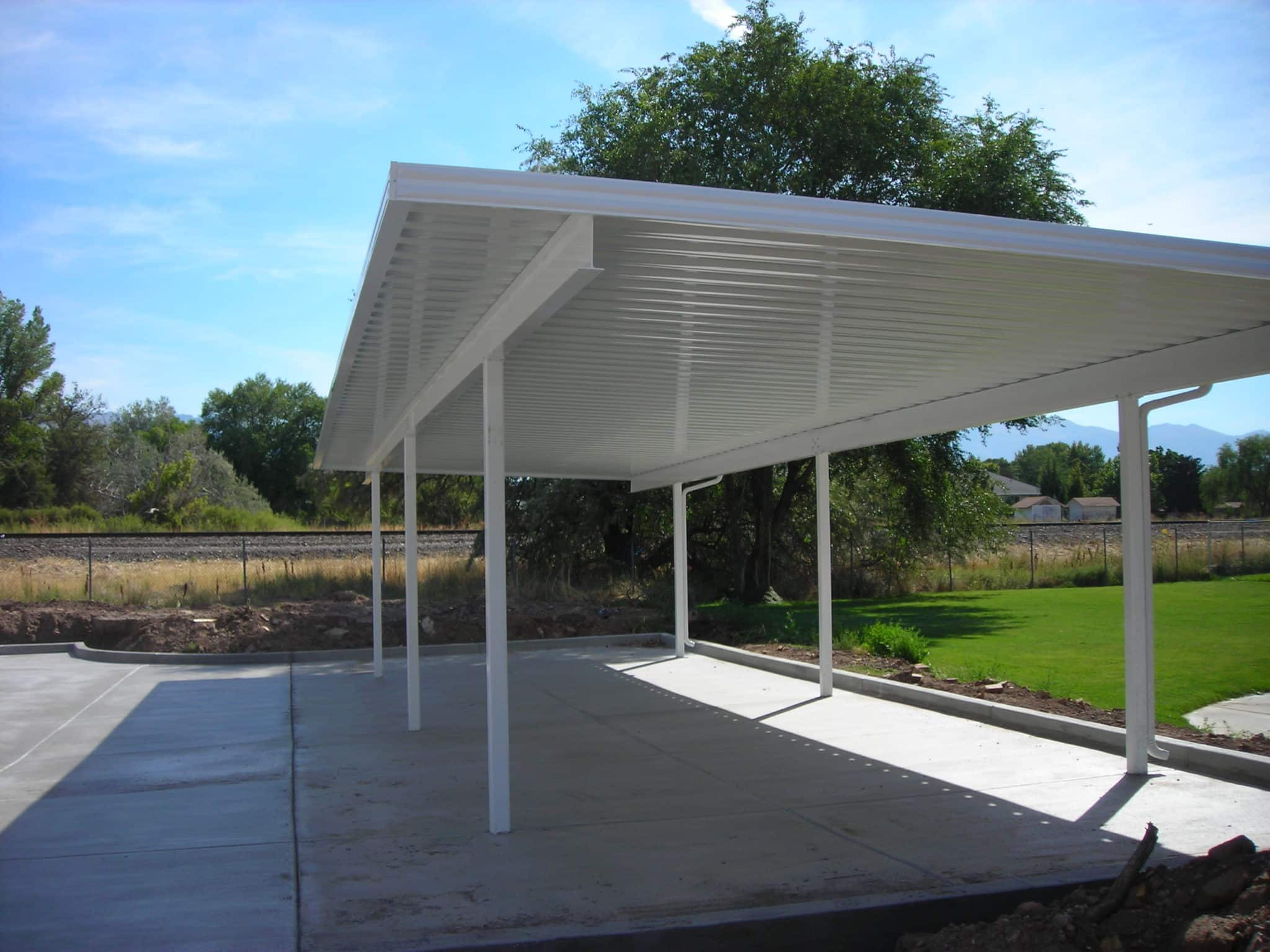 Carport ogden utah kool breeze inc for House plans ogden utah