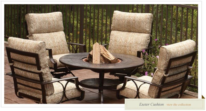 Exeter Cushion Patio Furniture Ogden Utah
